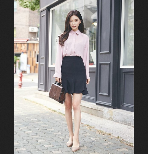 outfit công sở